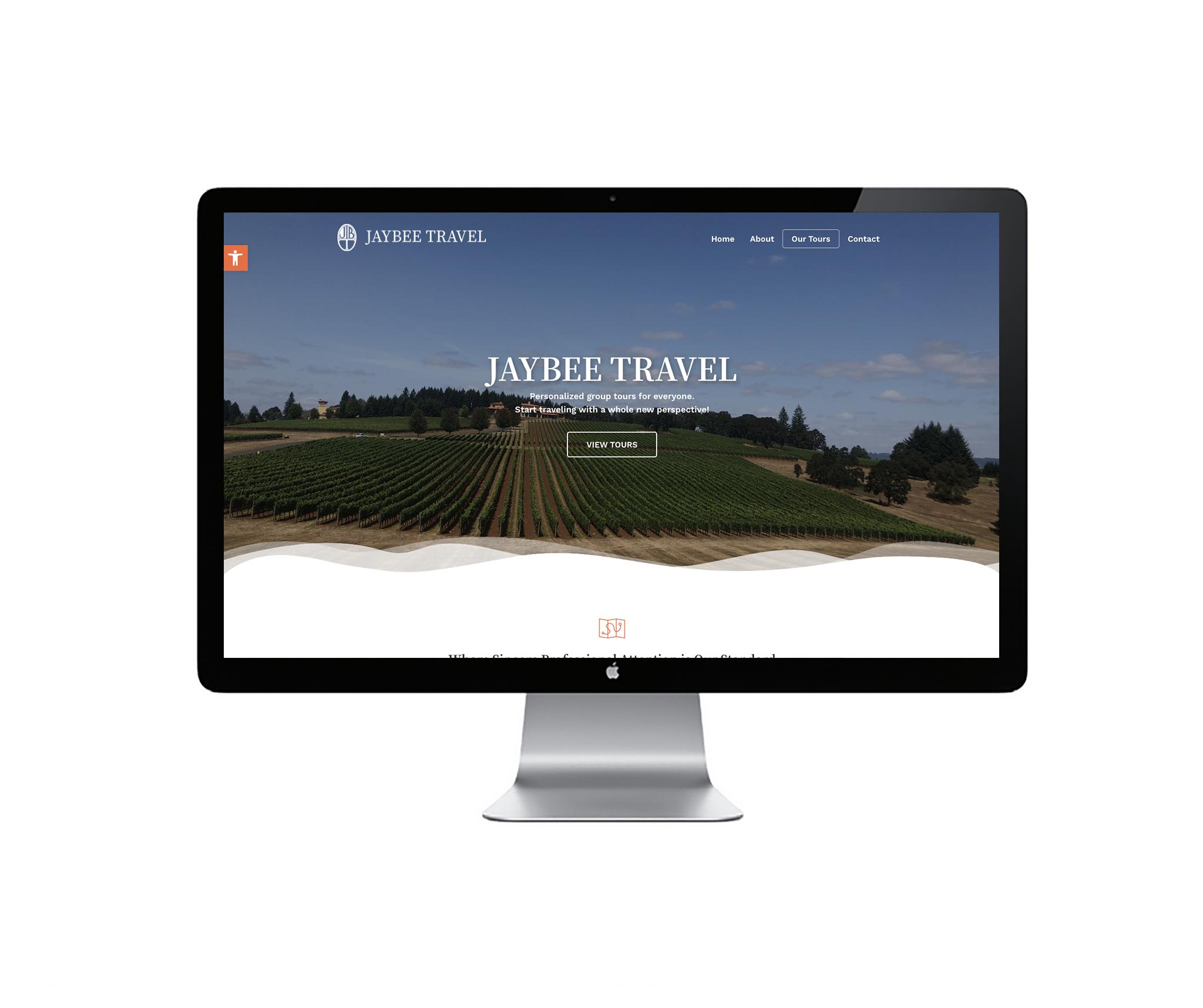 jaybee travel website cover