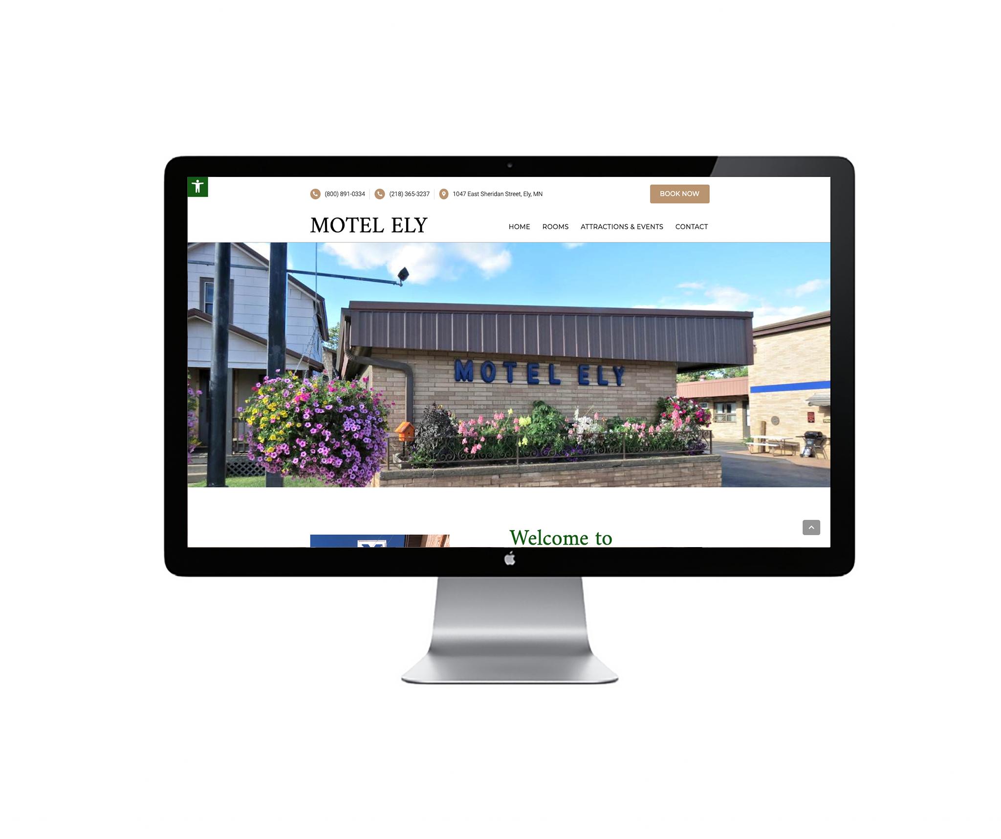 motel ely website
